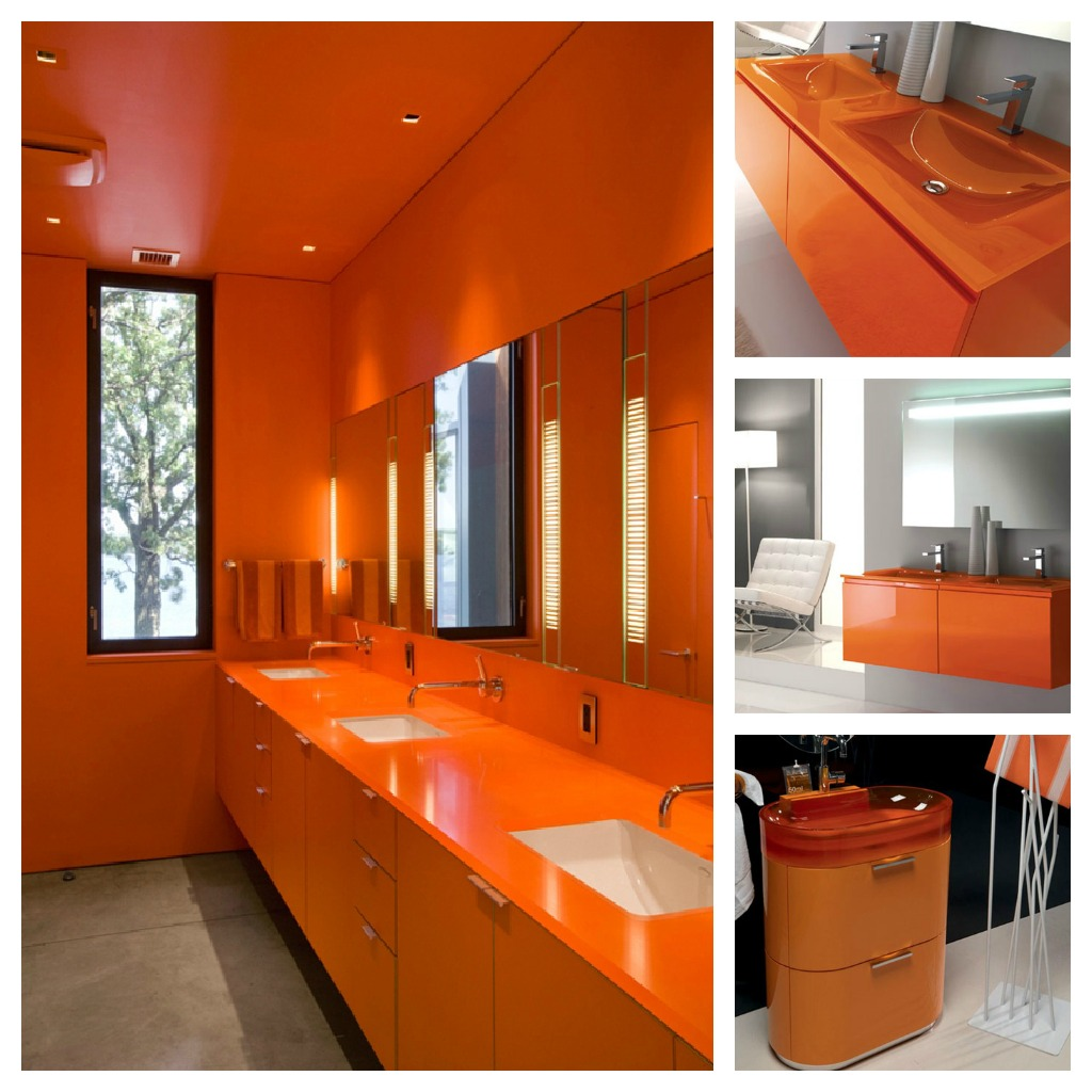 Colour psychology using orange in interiors the design