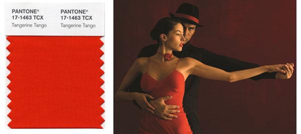 Tangerine Tango Pantone Colour of the Year 2012