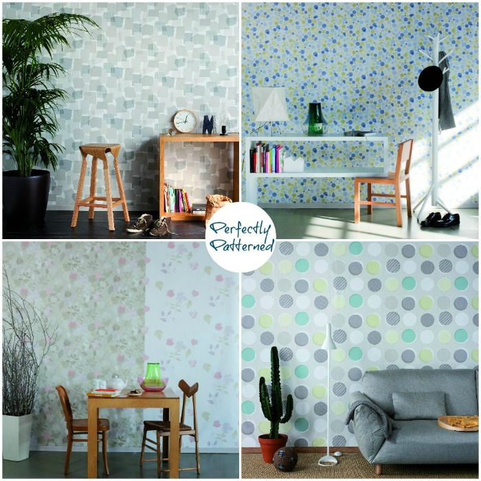 Missiva wallpaper collection by Tres Tintas