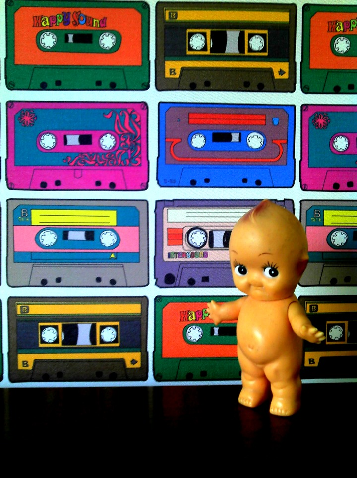 Tape Wallpaper by Brennan & Burch