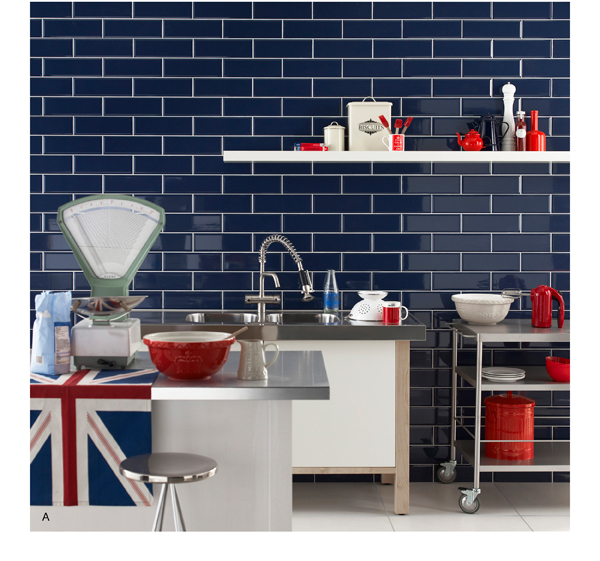 Topps Tiles Supersized Metro Brick Tiles